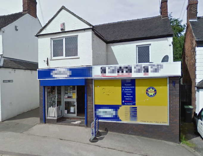 Freehold Newsagent, Card Shop, Confectioner plus Stationer for Sale in Staffordshire