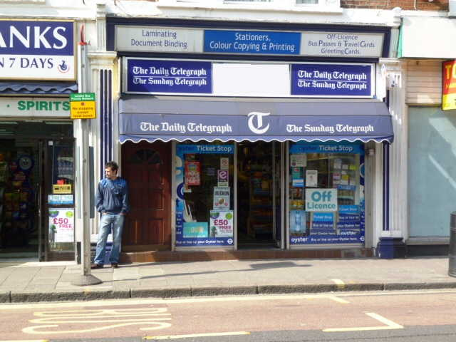 Well Established Stationery, Greeting Cards Plus News, Confectionery, Tobacco, Full Free off Licence, South London for sale