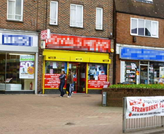 Successful Newsagent, Card Shop, Confectioner, Stationer plus Off Licence for Sale in Hertfordshire