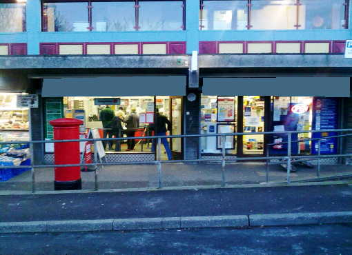 Counter News, Confectionery, Tobacco, Greeting Cards, Stationery with Modified Post office, Somerset for sale