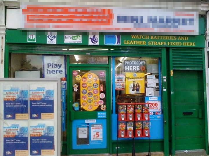 Counter News, Confectionery, Tobacco, Convenience Groceries, On Line National Lottery Plus Oyster, South London For Sale