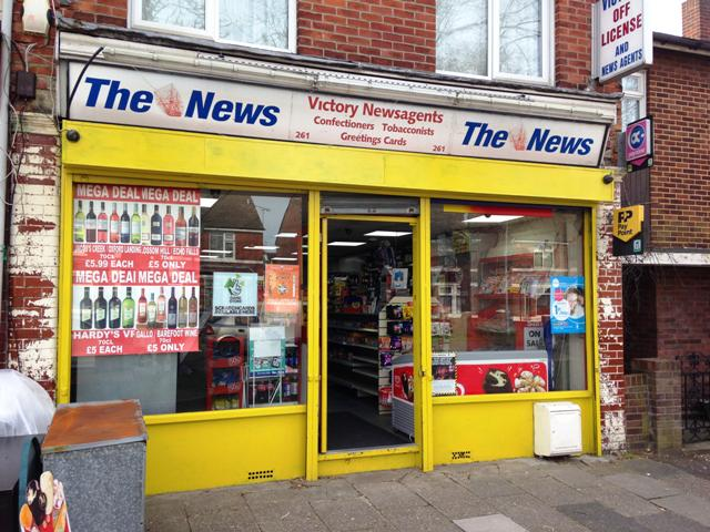 News, Confectionery, Tobacco, Greeting Cards, Slight Convenience Groceries, Full Free off Licence, Hampshire for sale