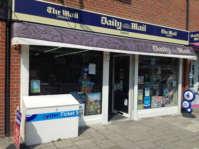 Mainly Counter News, Confectionery, Tobacco, Greeting Cards, Stationery, Full Free off Licence (Only Recently Granted), Kent for sale