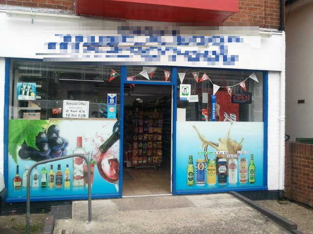 Full Free off Licence Slight Confectionery, Tobacco, Convenience Groceries, Surrey for sale