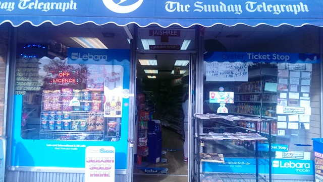 News, Confectionery, Tobacco, Convenience Groceries, Full Free off Licence (Granted September, 2014), Middlesex for sale
