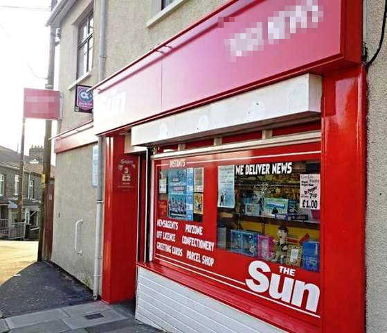 Newsagent and Off Licence for sale in South Wales