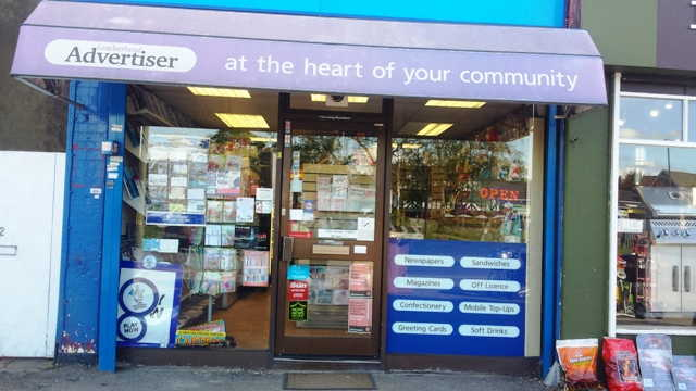 Newsagent and Off Licence in Surrey For Sale