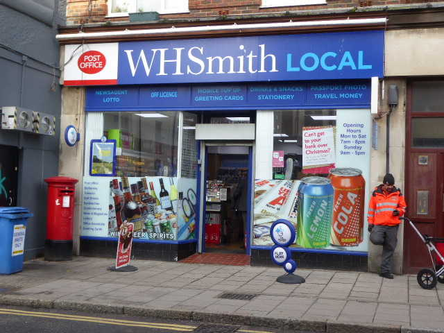 Main Post Office & Off Licence in East Sussex For Sale