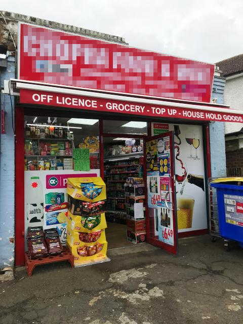 Off Licence with slight Grocery in Middlesex For Sale