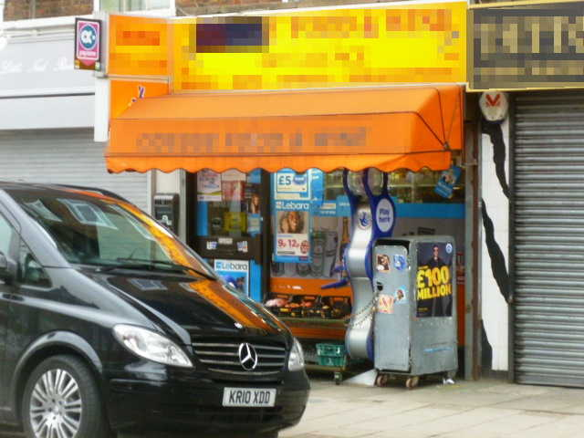 Self Service Convenience Store, Full Free off Licence Plus On Line National Lottery, North London for sale