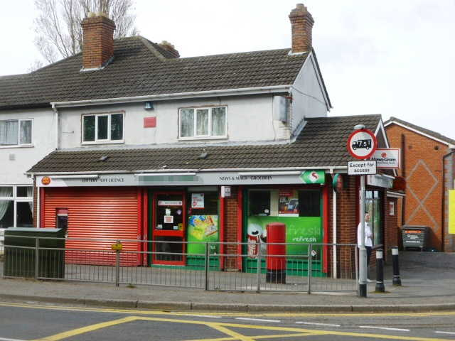 Well Equipped Semi-detached Self Service Convenience Store, Full Free off Licence + Post office Local, West Midlands for sale