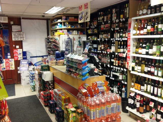 Freehold End of Terrace Self Service Convenience Store, News, Confectionery, Tobacco, Full Free off Licence, On Line National Lottery, Scotland for sale