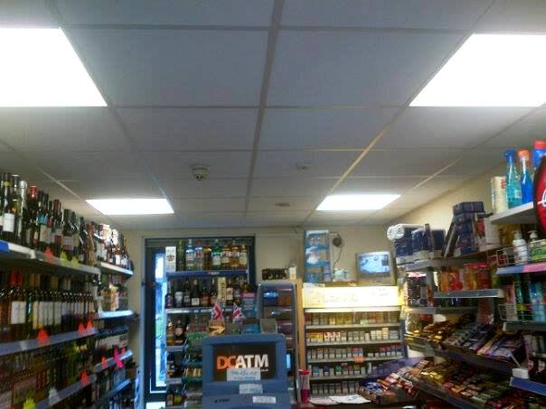Ultra Modern (Approximately 7 Years Old) Self Service Convenience Store, Counter News, Confectionery, Tobacco, Full Free off Licence Plus Lottery Scratch Cards, West Midlands for sale