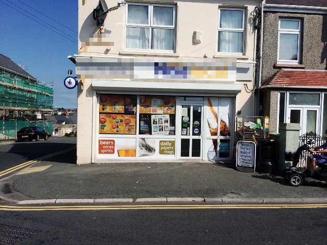 Fully Fitted Fitted Self Service Convenience Store, Counter News, Confectionery, Tobacco, Full Free off Licence Plus On Line National Lottery, South Wales for sale
