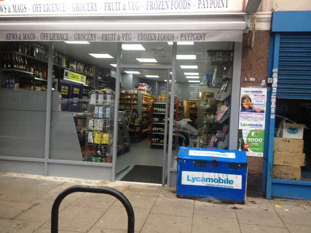 Convenience Store with Off Licence in West London For Sale