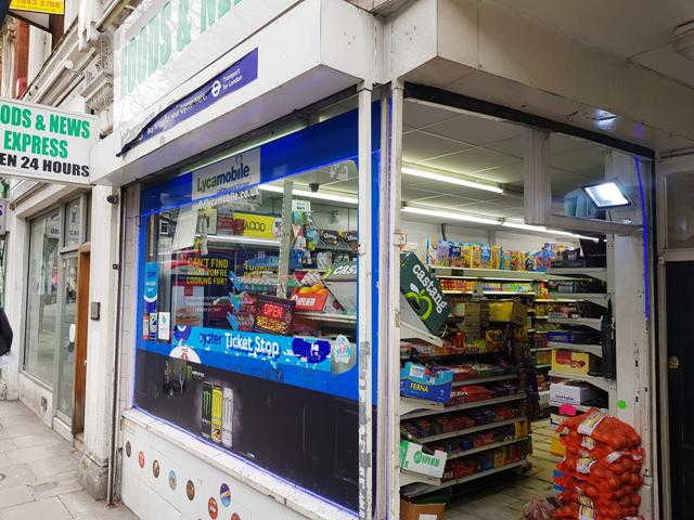 Supermarket and Newsagent in Central London For Sale
