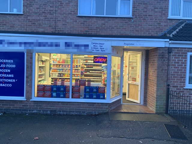 Convenience Store in Nottinghamshire For Sale
