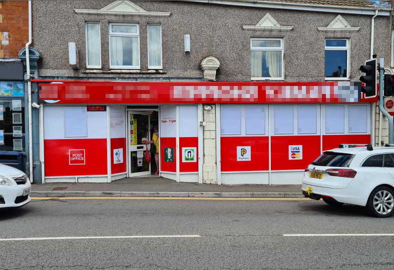 Freehold Convenience Store & Post Office in South Wales For Sale