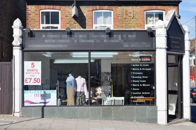 Established Tailoring and Alterations Plus Receiving Dry Cleaners Shop(Recently Reduced For Early Sale Due To Personal Circumstances), Surrey for sale