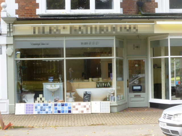 Well Established Tiles and Bathroom Showroom, Surrey for sale