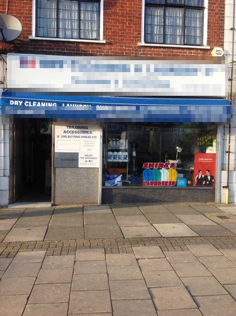Well Equipped Dry Cleaners, North London for sale