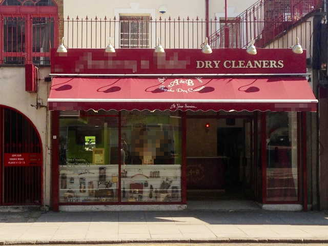Well Fitted Dry Cleaners Plus Receiving Shop Closeby, North London for sale
