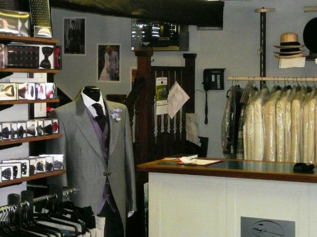 Most Attractive Long and Well Established Men's Retail and Formal Hire Including Dry Cleaning and Tailoring Service for sale in Bordon for sale