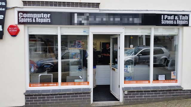 Well Established Computer Sales and Repairs, Cornwall for sale