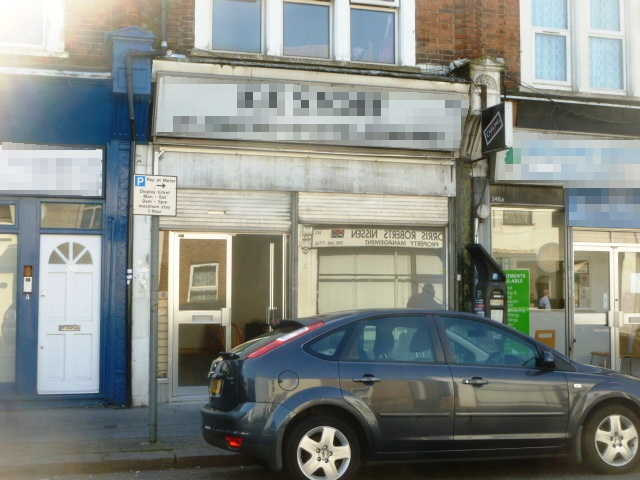 Empty Spacious Single Fronted Shop Premises, Surrey for sale