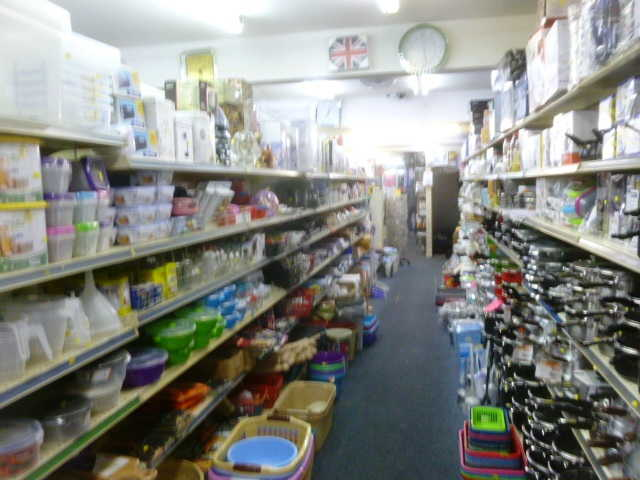 Well Established Pound Plus Shop Including Household Goods, Toiletries, Stationery, Hardware, Afro Cosmetics Plus Money Transfer Agency for sale in Primrose Hill for sale
