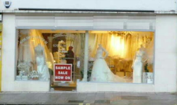 Superbly Fitted and Spacious Bridalwear Shop, South London For Sale