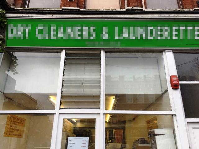 Launderette and Dry Cleaning agency in North London For Sale
