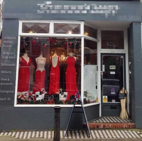 Prom, Wedding and Evening Wear Shop in Surrey For Sale