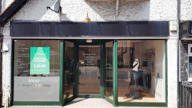 Dry Cleaning Receiving and Alterations Shop in Berkshire For Sale