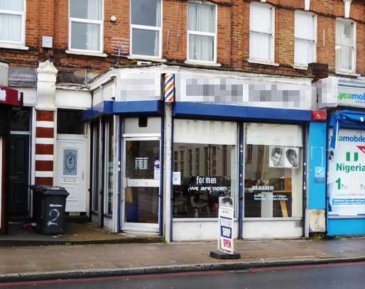 Barber Shop in South London For Sale