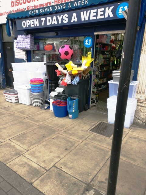 Discount Store and Household Goods Shop in South London For Sale