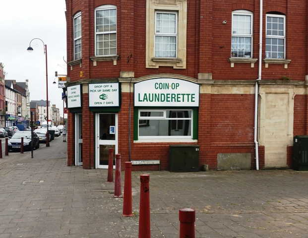 Launderette plus Dry Cleaners Receiving in South Wales For Sale