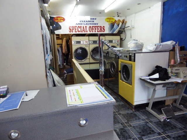Dry Cleaners and Launderette in Merton Abbey For Sale