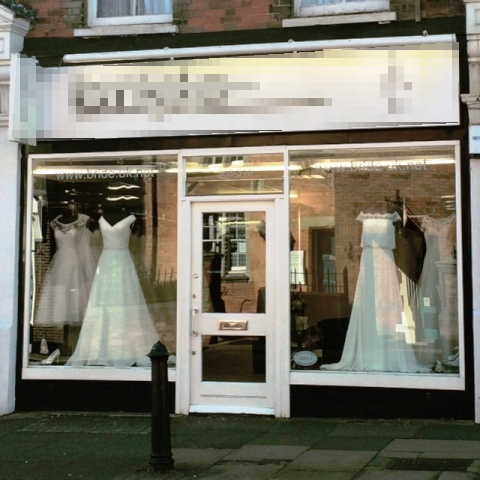 Wedding Dress Shop in Surrey For Sale