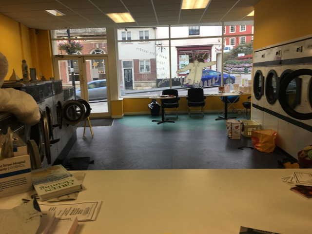 Launderette and Dry Cleaning Agency in Marlborough For Sale