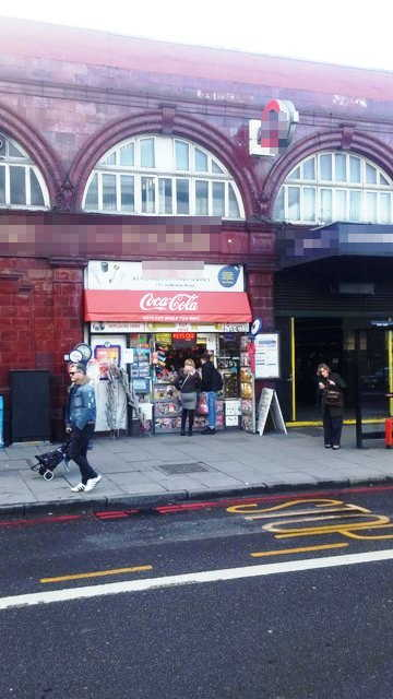 Underground Station Kiosk in North London For Sale
