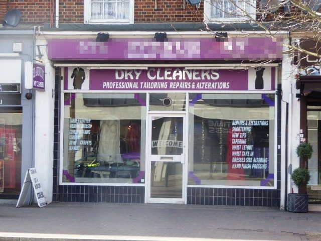 Dry Cleaning Receiving Shop in Kent For Sale