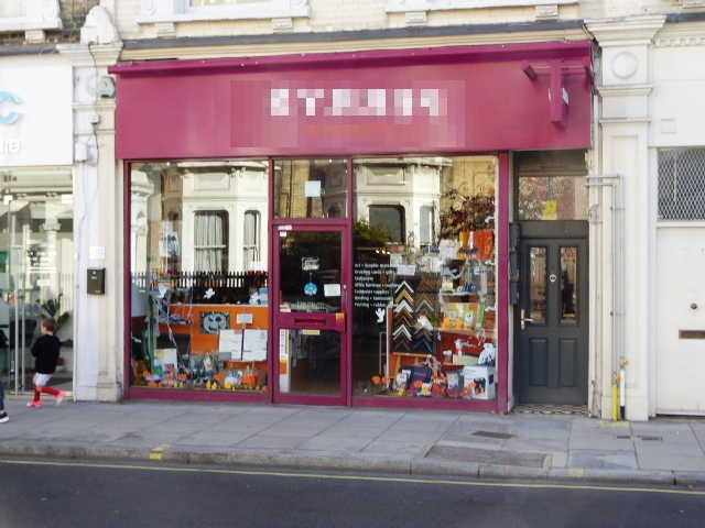 A  RARE ART, CRAFT & OFFICE STATIONERY BUSINESS in South London For Sale