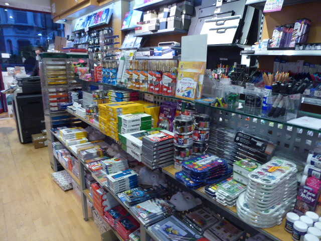 A  RARE ART, CRAFT & OFFICE STATIONERY BUSINESS in South London For Sale for Sale