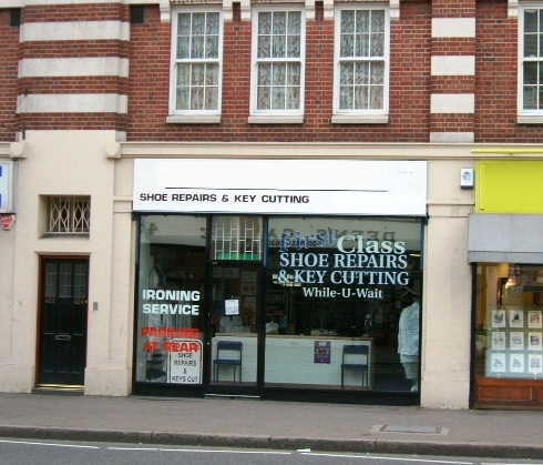 Dry Cleaners & Shoe Repair Business in Kent For Sale