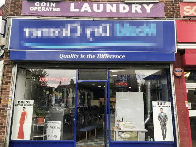 Dry Cleaners plus Launderette in Middlesex For Sale