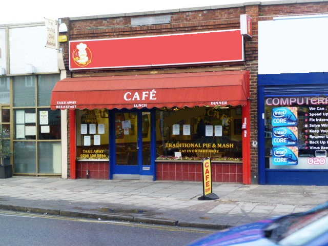 Spacious Well Established Caf� Catering For Breakfasts, Pie and Mash, Burgers, Sandwiches, Dinners Etc, Kent for sale