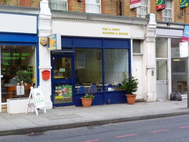 Takeaway Fish and Chips Plus Kebabs with Seating Area, South London for sale