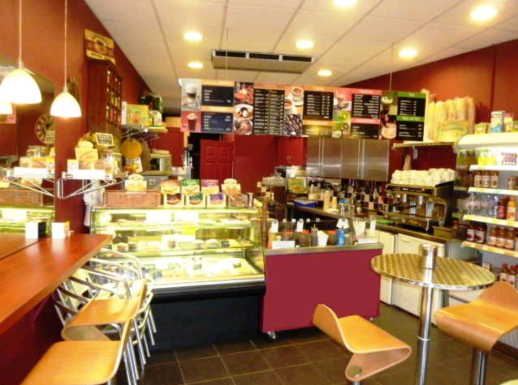 Trendy Caf� Terrace Shop, Including Sweet / Savoury Crepes, Smoothies, Frappes, Teas, Coffees, Hot Sandwiches, Omelettes Etc in Surrey for sale