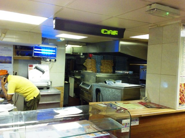 Indian Takeaway and Kebab and Pizza Shop in Morecambe For Sale